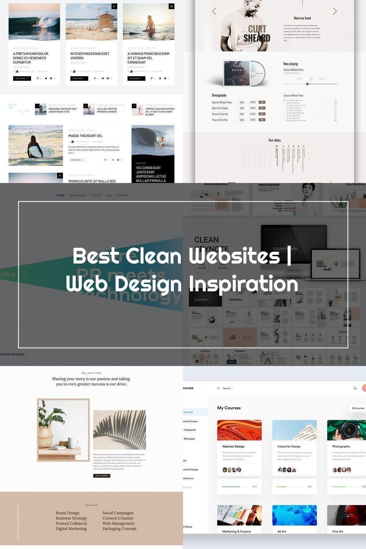 Best Clean Websites Web Design Inspiration In 2020 Web Design Inspiration Clean Websites Web Design