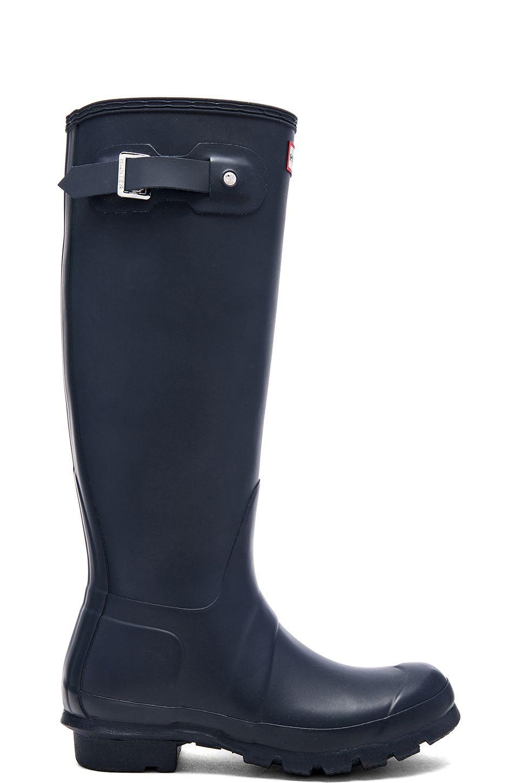 quality design 94b9c 9d0ef Hunter BOTTES DE PLUIE ORIGINAL TALL Bottes De Pluie, Mode Femme, Chaussures  De Chasse