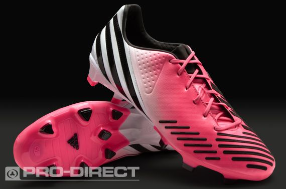 Adidas Football Boots Adidas Predator Lz Db Trx Fg Firm Ground Soccer Cleats Pink White Black Pro Direct Soccer Adidas Soccer Boots Soccer Shoes Soccer Accessories