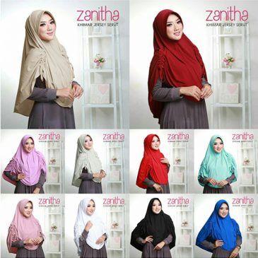 Jilbab Instan Khimar Jersey Serut Zanitha Hijab Hijab Tutorial Hijab Designs
