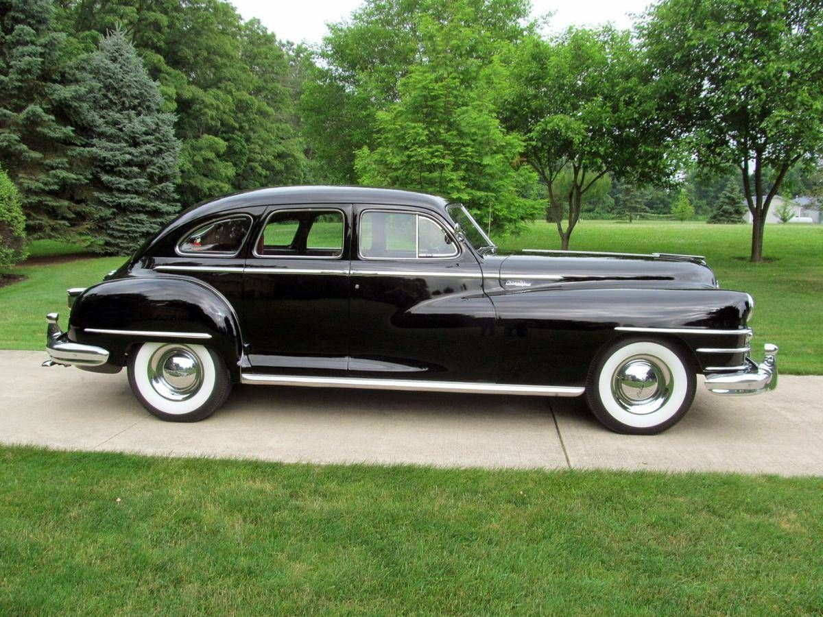 1948 chrysler new yorker highlander sedan