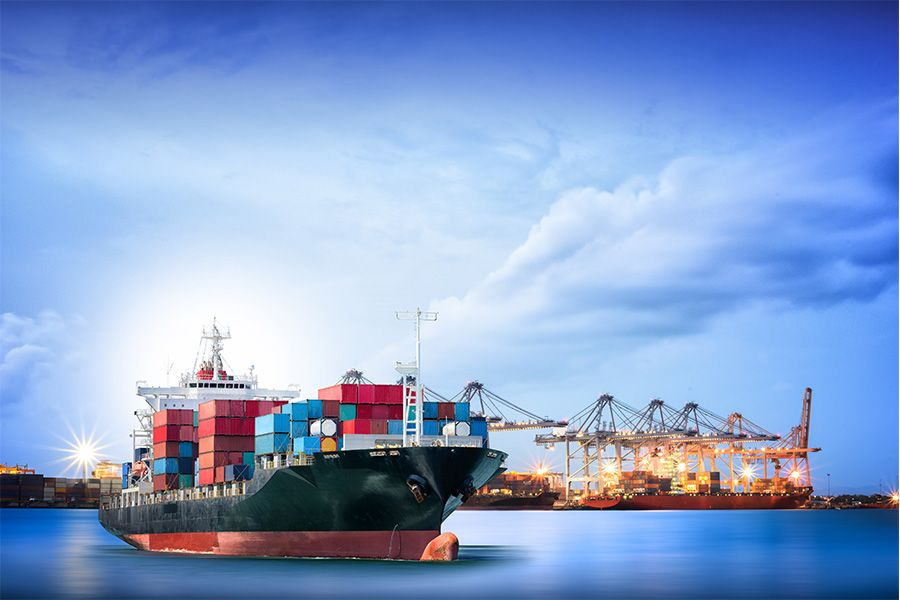 Gives you the best service from uks port to indias port