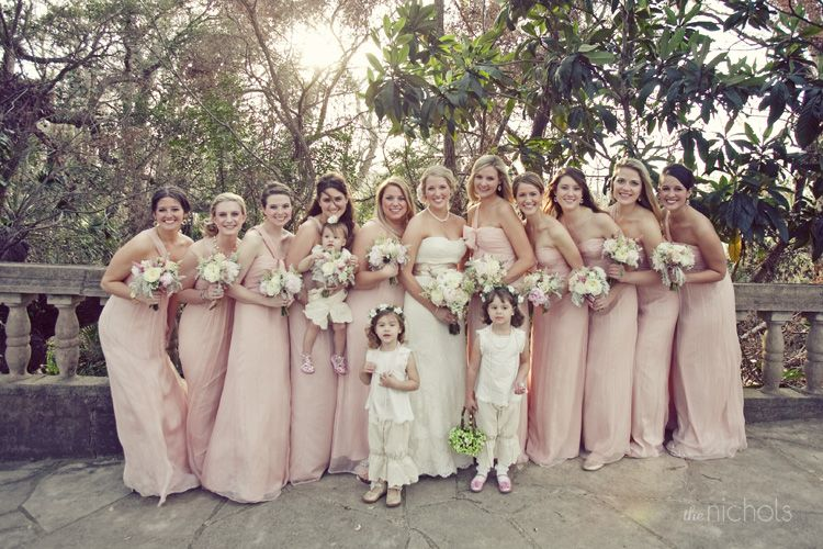 pantaloons!  Wedding on the grounds of Laguna Gloria