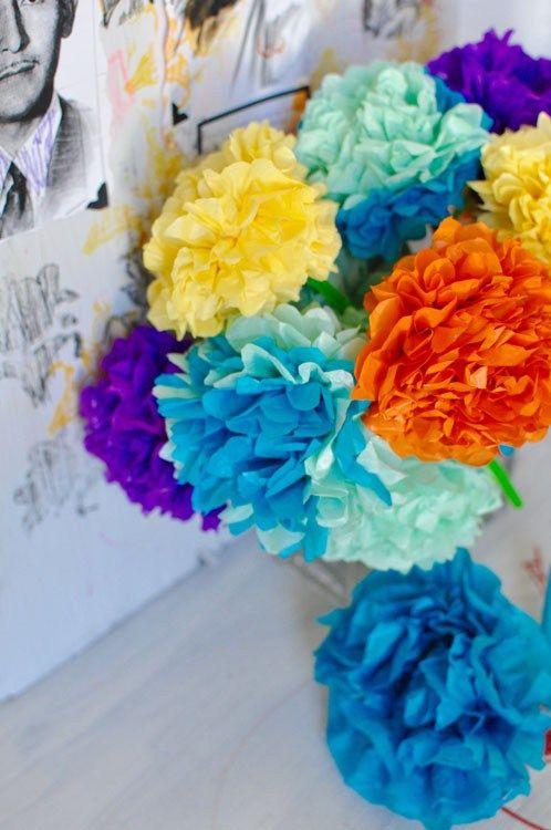 How To Make Paper Flowers For Day Of The Dead Spanish Classroom