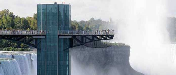 Complete Your Niagara Falls Trip With An Astonishing Close Up View Of All Three At Prospect Point Observation Tower