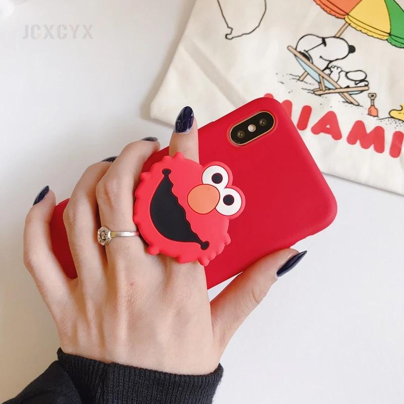 2020 的 3D Cute Sesame Street phone case for iphone X XR XS