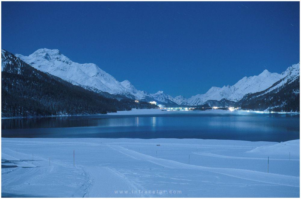 Vollmond über dem Engadin - Bild & Foto von K-14 aus Kt. Graubünden - Fotografie (30510538) | fotocommunity