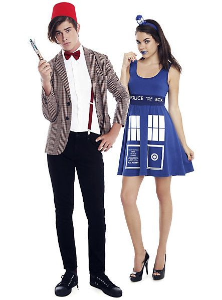 Doctor Who costumes. Couples CosplayNerdy ...  sc 1 st  Pinterest & Doctor Who costumes. | halloween! | Pinterest | Costumes Halloween ...
