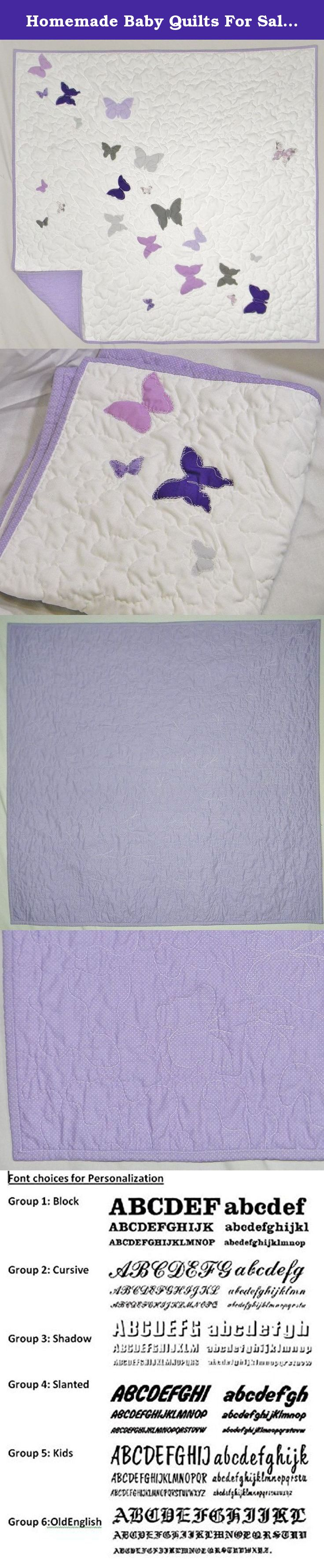 Crib size quilts for sale - Homemade Baby Quilts For Sale Purple Nursery Bedding Baby Girl Quilt Butterfly Nursery