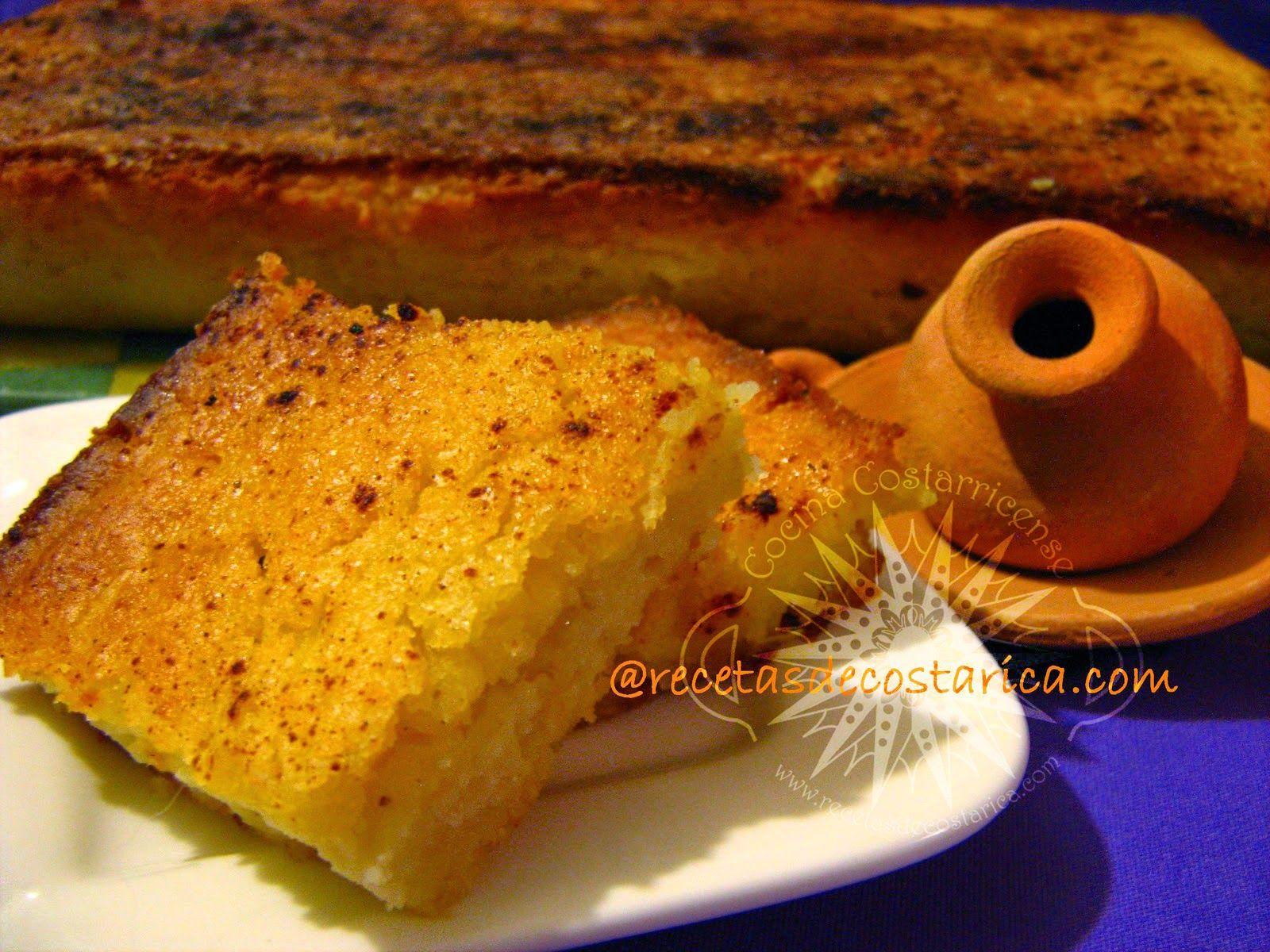 Cocina costarricense tamal asado recetas ticas