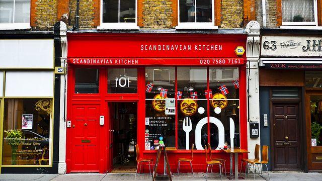 Magali Nouguier Scandinavian Kitchen London Kitchen Store Fronts