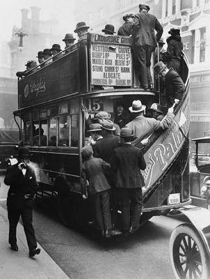 U.K. 1926 General Strike // History of the London Bus (II)
