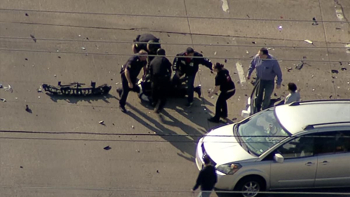 Dramatic End to Dallas Police Chase (With images) Dallas