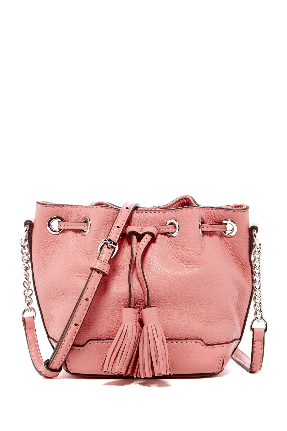 Micro Lexi Leather Bucket Bag by Rebecca Minkoff on @nordstrom_rack✨❧● ❥@tonjaamen