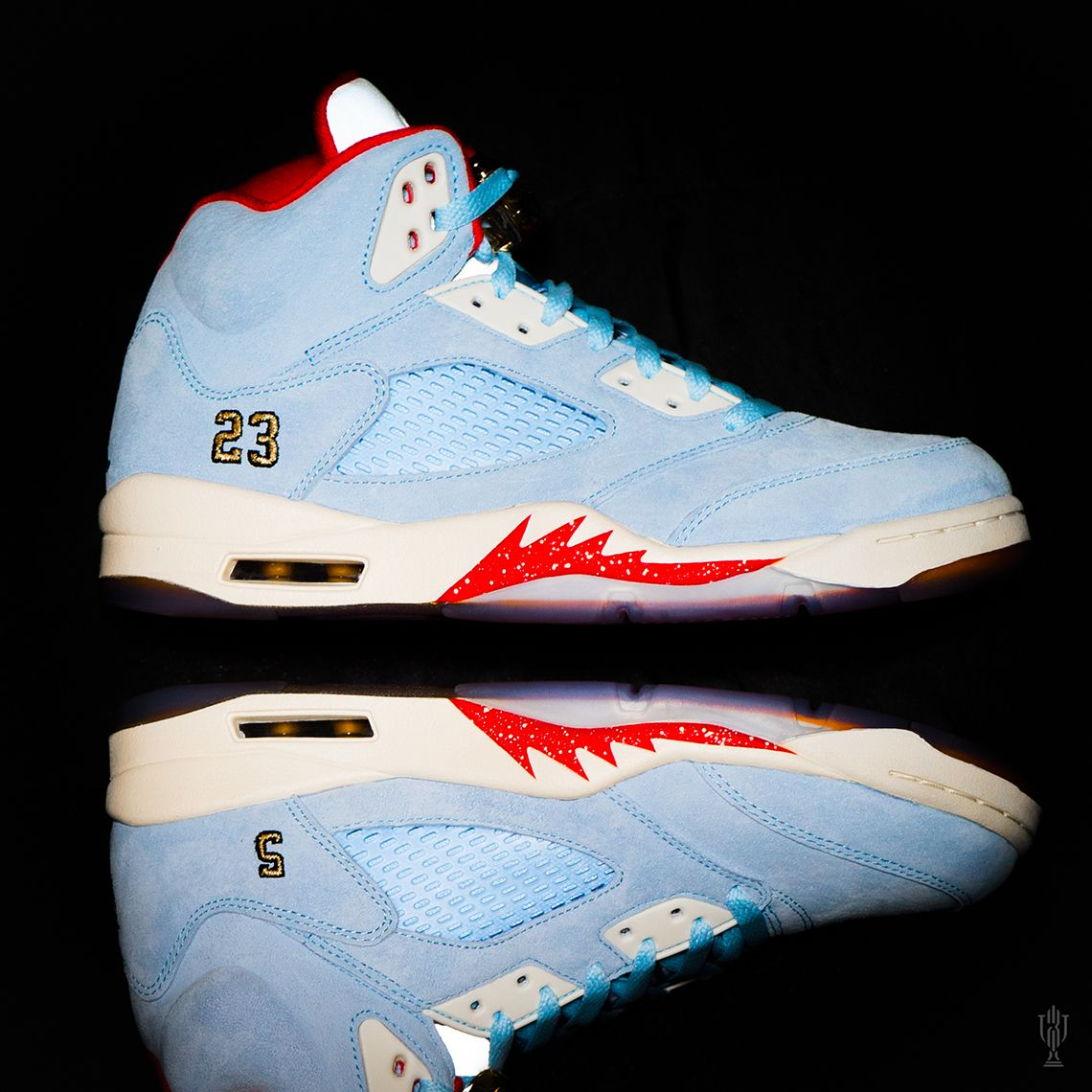 8eca42b6cb2 The Trophy Room x Air Jordan 5 Releases This Weekend   Air Jordan in ...