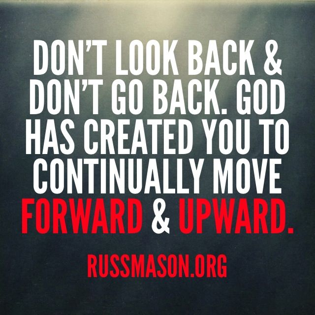 God Has An Amazing Plan For Your Life. Keep Moving Forward