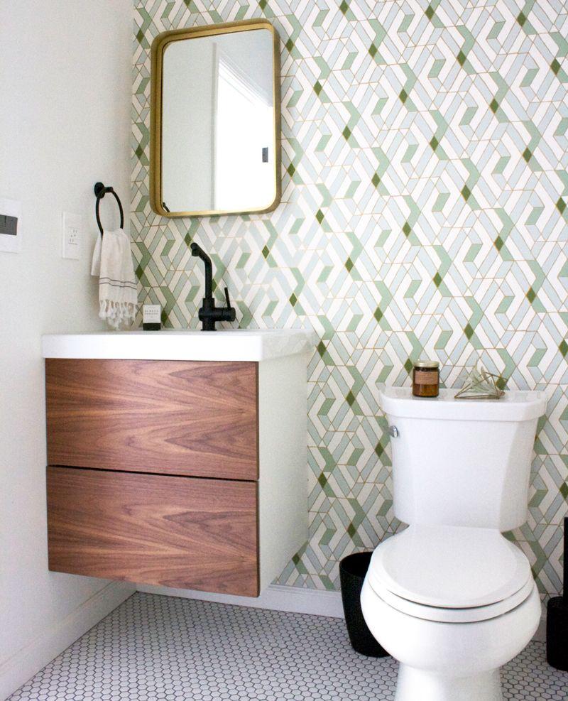 bathroom vanity, vanity, bathroom decor, bathroom ideas, modern ...