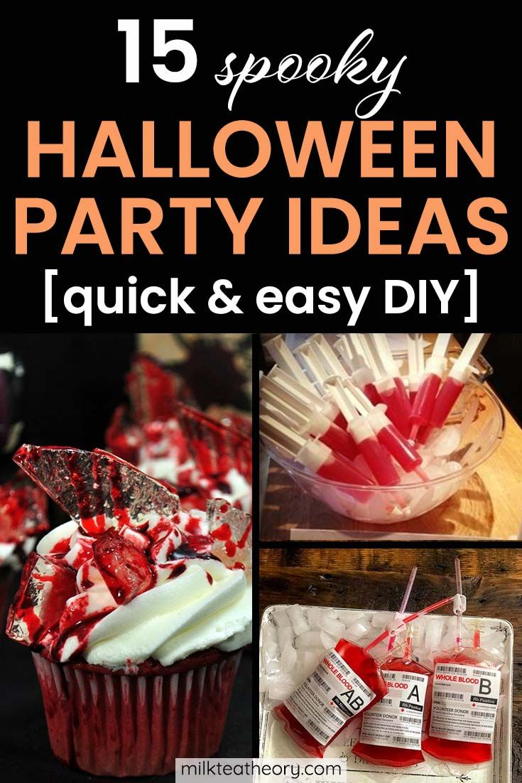 Photo of 15 Spooky Halloween Party Ideas That Are Quick And Easy DIY Projects