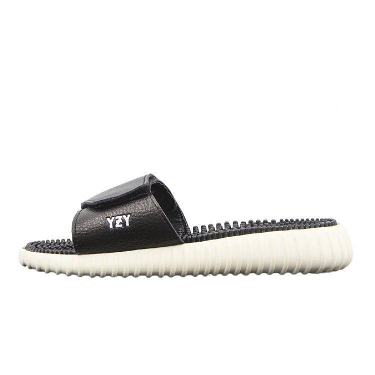 86651c3e03e01 ADIDAS yeezy 350 boosts Leather Sandal AB35003