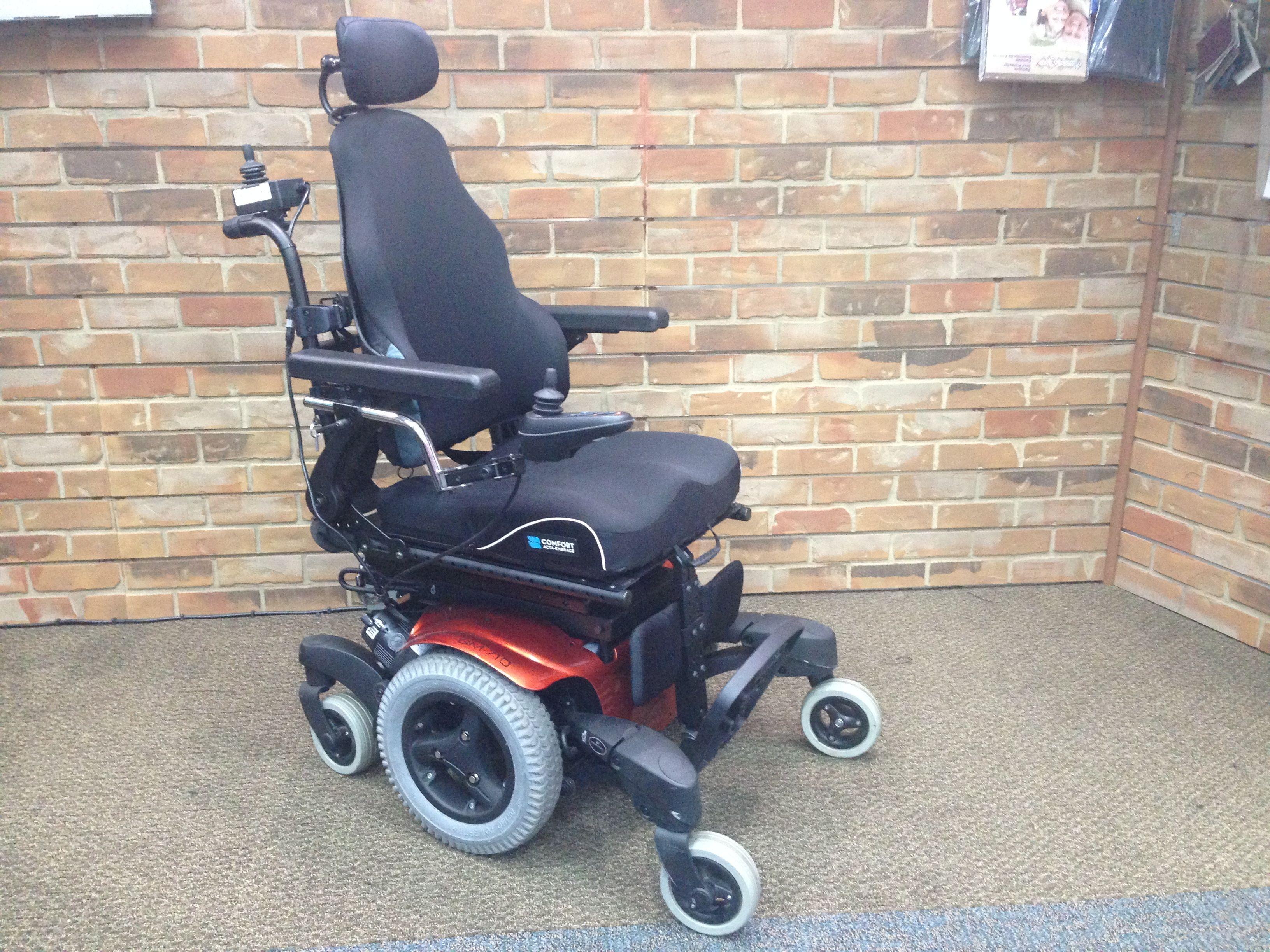 Quickie QM710 Power Tilt Rehab Power Chair (New) For Sale