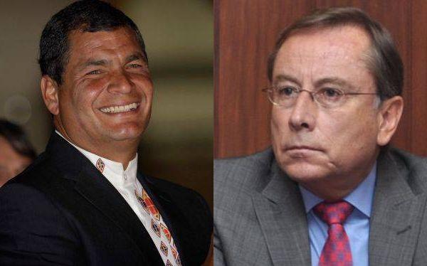 """2013 - 5 de Mayo - Completamente equivocado - Correa reconoce que Riofrío pateó a una mujer pero se niega a retirarlo del Perú - Quito (EFE). El embajador Rodrigo Riofrío """"sí dio un puntapié, porque estaban agrediendo a su sobrina en el piso"""", comentó el presidente Rafael Correa al preguntarse: """"¡Por qué tenemos que sacarle"""" al embajador, si él """"fue el agredido?""""."""
