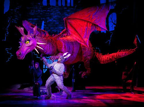 Fav Role Dragon Shrek Musical Shrek Dragon Shrek Musicals