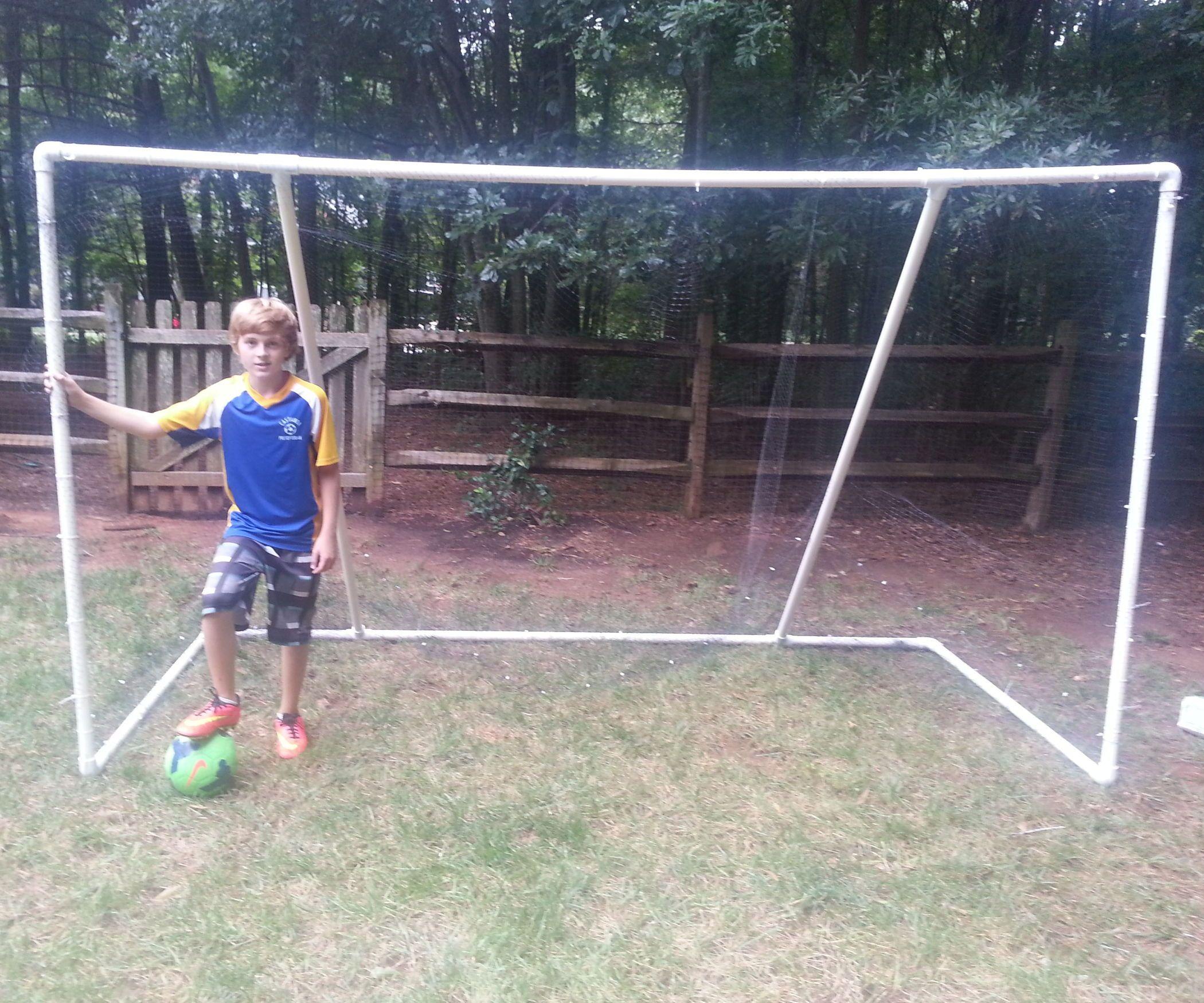 PVC Soccer Goal 10' X 6' X 4.5'   Kids soccer goal, Soccer ...