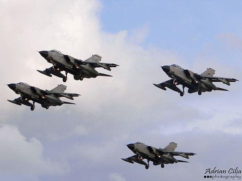 Italian Air Force --- Panavia Tornado --- MM7201, MM7044, MM7007, MM7083