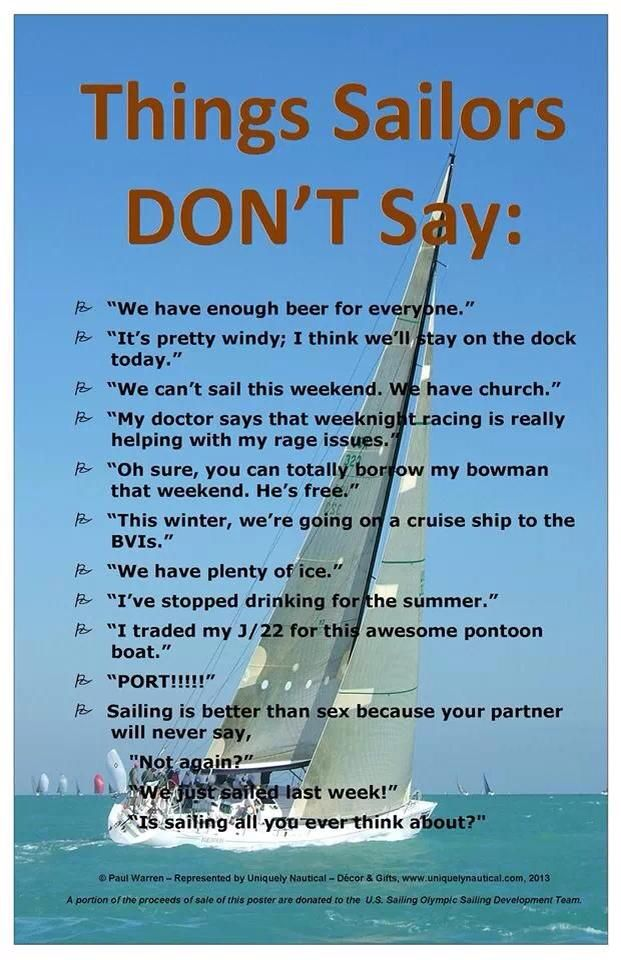 Chris Cote Greenman Too Funny And About That Cruise To The Bvis Sailing Sailing Quotes Sailing Terms