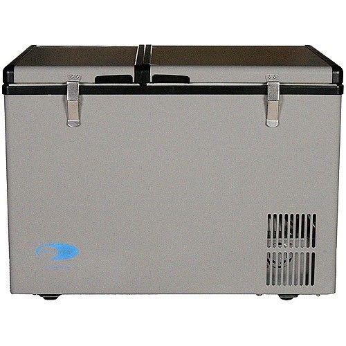 Whynter Gray 62 Qt Portable Refrigerator Freezer
