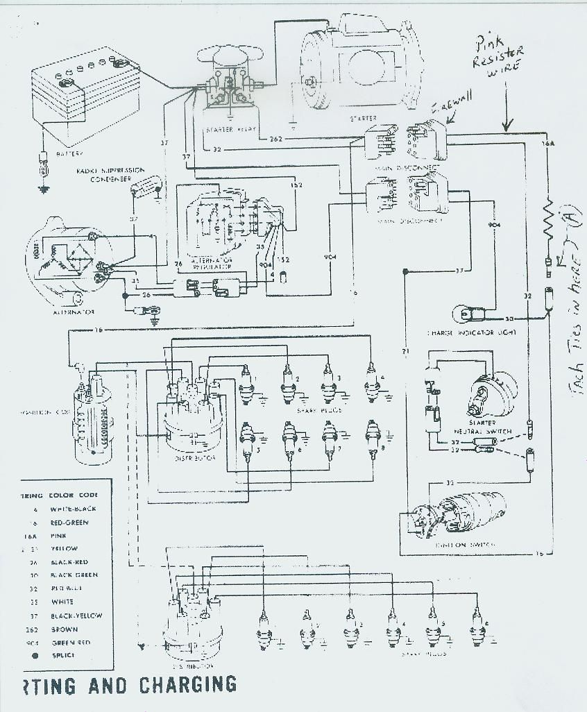 aftermarket tach wiring diagram for 1966 ford mustang