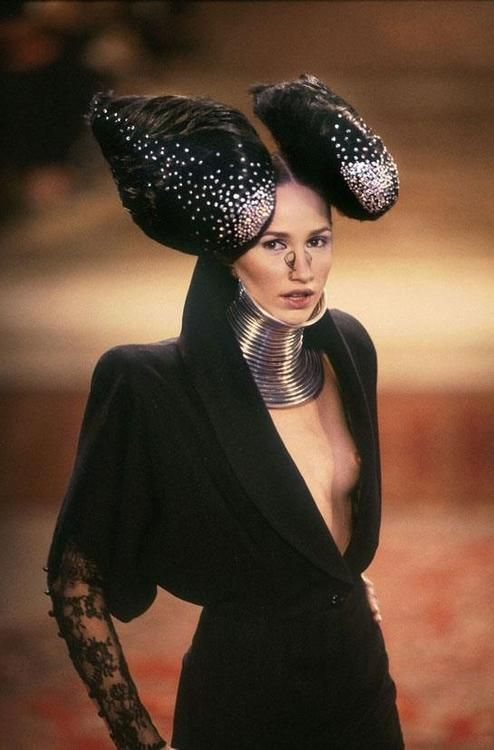 Alexander McQueen for Givenchy FW 1997 haute couture