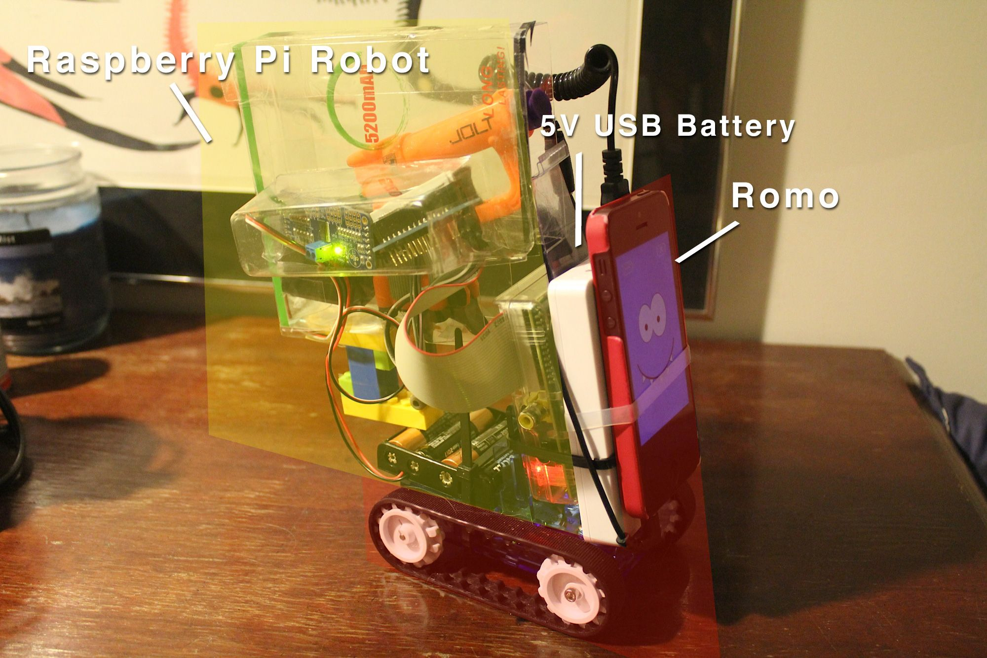 A remote-operated Nerf dart shooting robot controlled by a Raspberry Pi.  Need I
