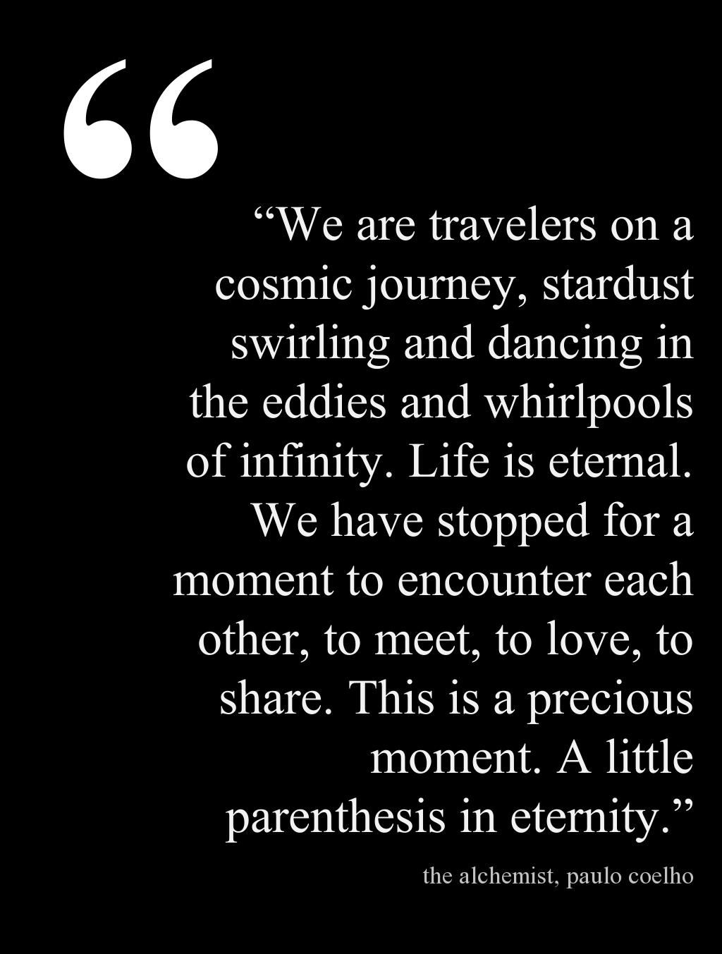 "Infinity Quotes A Precious Moment A Little Parenthesis In Eternity"" For Travel"