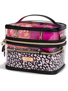 9f135034a175 4 Piece Travel Case Vanity Bag