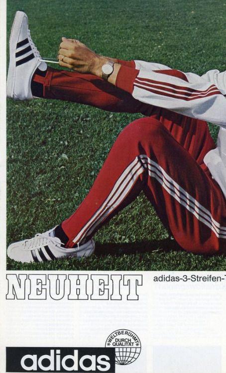 new arrival 10a6d 6eb72 Franz Beckenbauer tracksuit. Adidas 1967