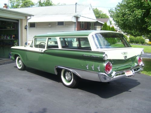 1959 Ford Fairlane Galaxie Came With Six Engine Size Options From