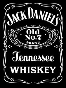 Jack Daniel S Logo Vector Jack Daniels Baski Alkollu Icecekler