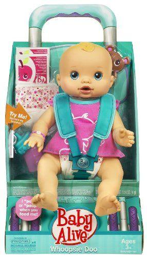 Amazon Com Baby Alive Whoopsie Doo Doll Caucasian Girl