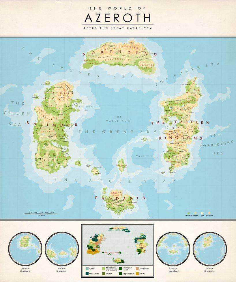 The Warcraft Map Project\'s gallery: kuusinen.deviantart.com/journa ...