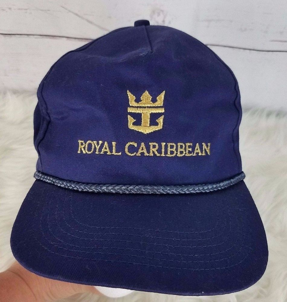 Royal Caribbean Adult Baseball Cap One Size Snapback