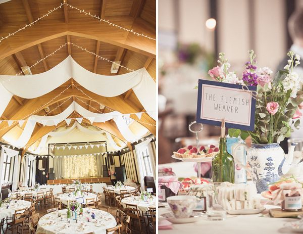 A Whimsical Crafty Village Hall Wedding Wedding Pinterest