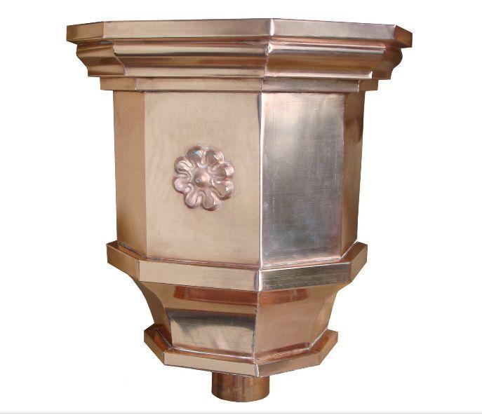 Ornate Gutters Ornate Leaderhead Copper Brass Gutters Conductors
