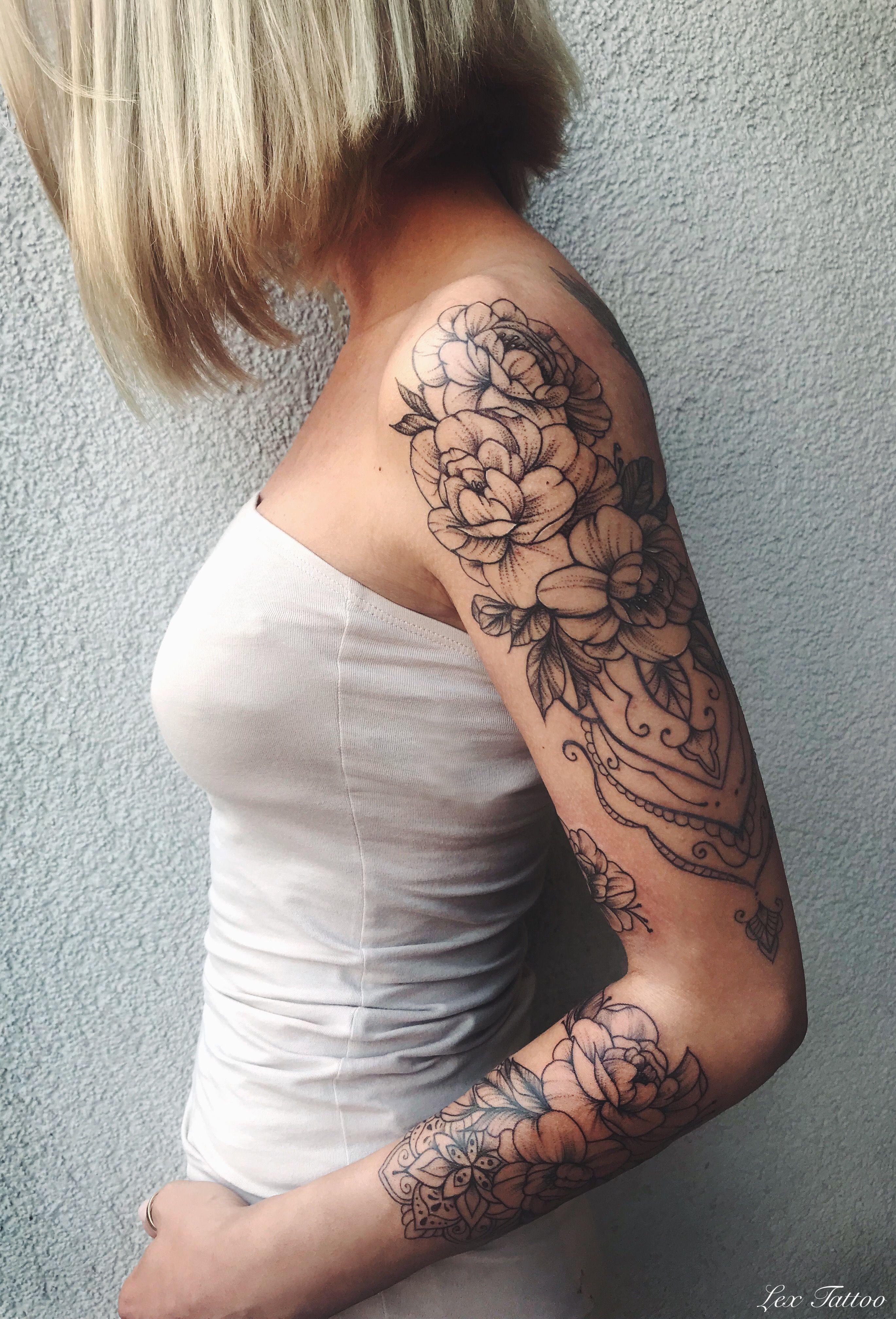 Tattoo Ganzer Arm Frau Mandala - ganzer 2020
