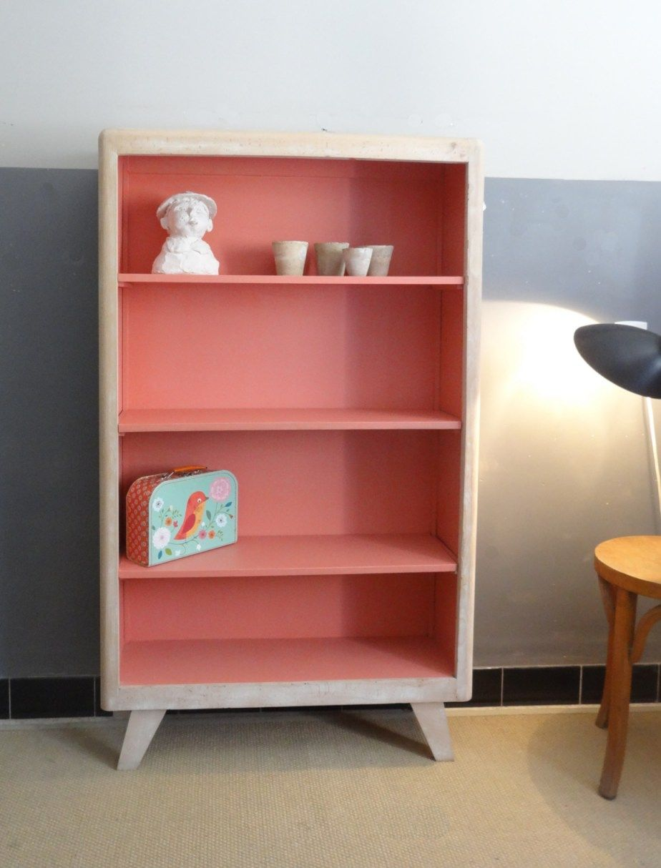 petit meuble ann es 50 d co vintage d co chambre enfants girls room pinterest. Black Bedroom Furniture Sets. Home Design Ideas