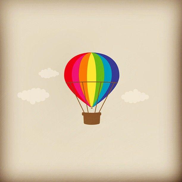 A Veces Hay Ganas De Salir Volando. #balloon #colors