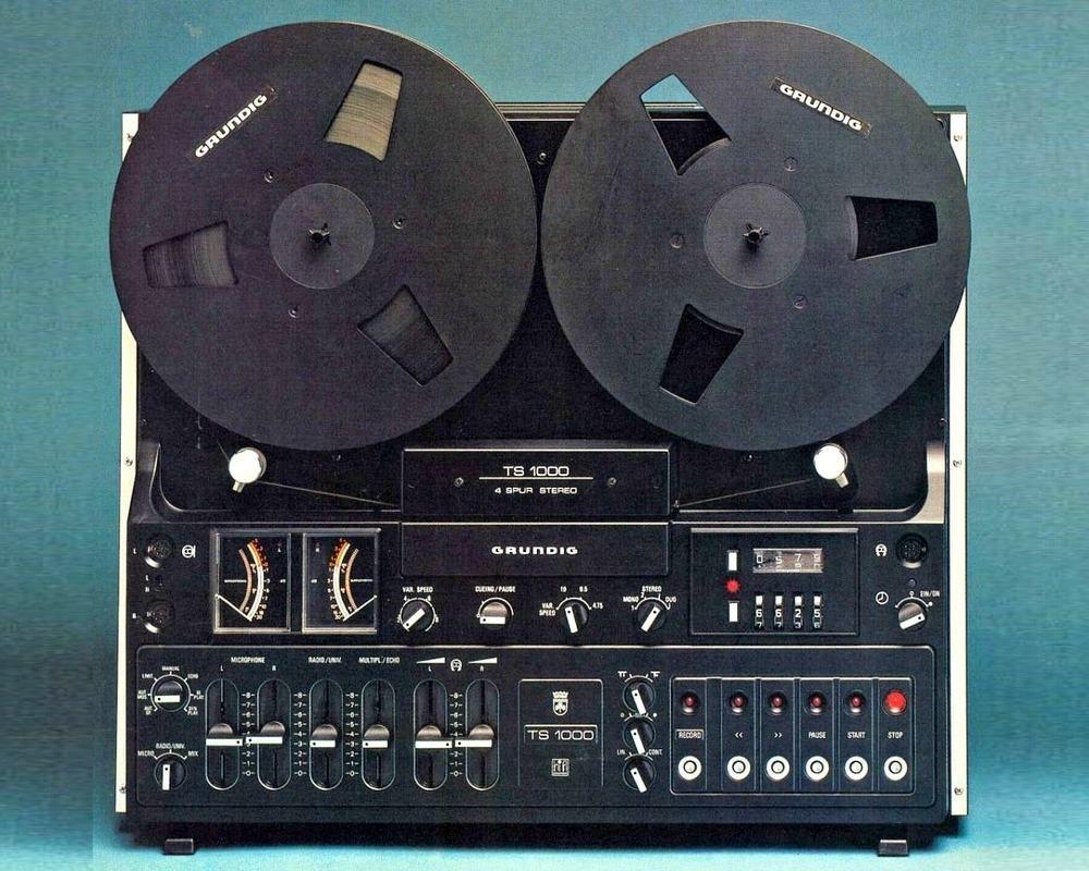 GRUNDIG TS1000 | Vintage Radio Engineering  | Tape recorder