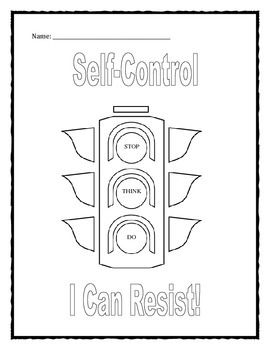 free self discipline coloring pages - photo#27