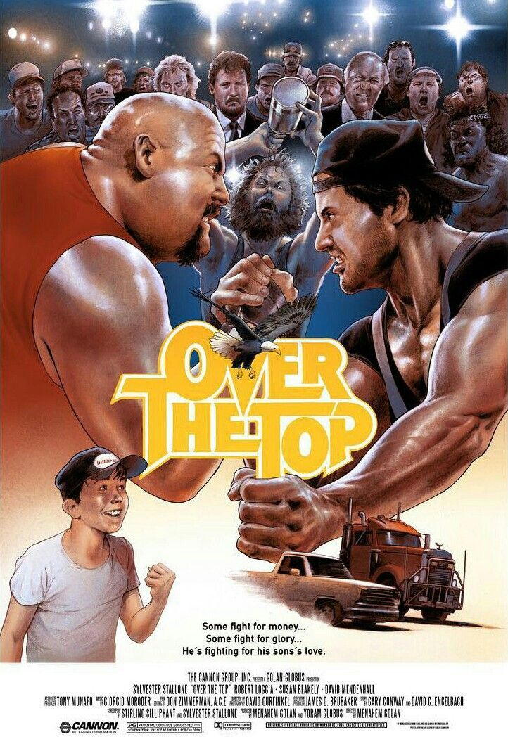 Over The Top In 2019  Stallone Movies, 80S Movie Posters -9963