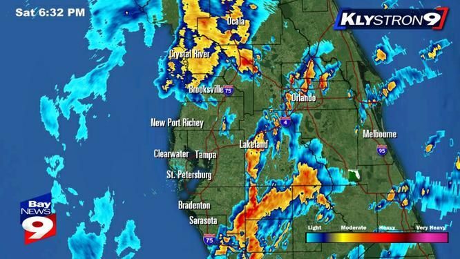 Line of Storms coming Tampa Bay Radar Maps County by County
